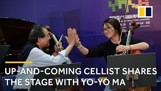 Play With Yo Yo Ma An Up And Coming Cellist Shares The Stage With Her Idol