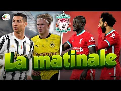 Nouvelle menace sur Mohamed Salah et Sadio Mané..Haaland défie Cristiano Ronaldo | MATINALE