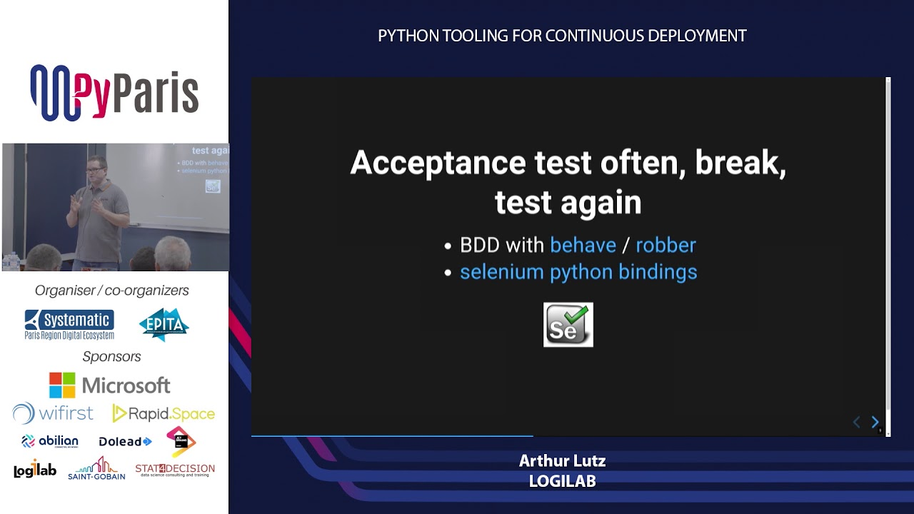 Image from Python tooling for continuous deployment