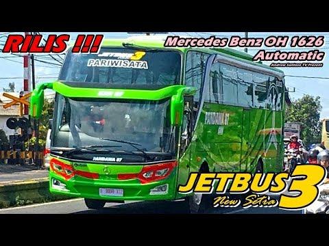 Rilis New Jetbus 3 Hdd Pertama Po Pandawa 87 Powered By Mercedes Benz Oh 1626 Automatic