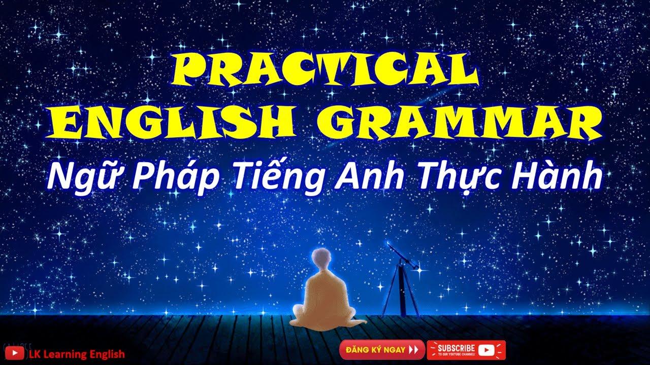 [Ngữ pháp Tiếng Anh] Bài 1A: Động từ be (English Grammar - Unit 1A: Be as an ordinary verb)