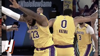 Kyle Kuzma GAME-WINNER! | Nuggets vs Lakers | August 10, 2020