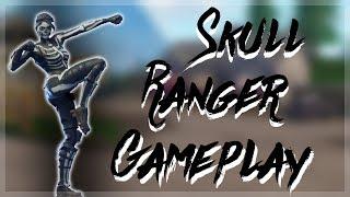 NOVO crânio Ranger Skin gameplay! -Fortnite Battle Royale solo gameplay