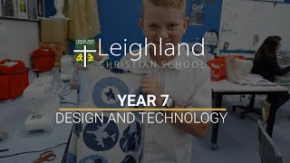Year 7 -  Design and Technology (Textiles and Cooking)