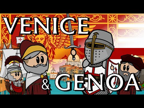 History of Venice & Genoa | Italy Part 3