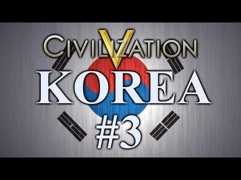 Sejong - Korea | Civilization 5 | Episode 3 |