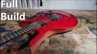 How I Made A Custom Electric Guitar (Full Build)