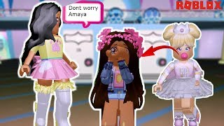 Gambar cover MEAN BULLY SPIT GUM IN MY DAUGHTERS HAIR & SHE HAD TO CUT IT! -Royale High