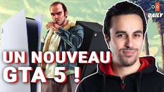 UNE NOUVELLE NINTENDO SWITCH, UN NOUVEAU GTA 5 SUR NEXT GEN, POKÉMON UNITE EN FUITE ! - JVCom Daily