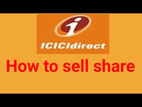 How to sell share through icicidirect.com mobile app