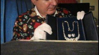 Male ASMR soft spoken holiday jewelry gifts salesman