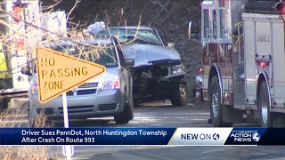 North Huntingdon Township, PennDOT sued following deadly crash on Route 993