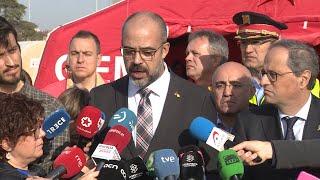 La Generalitat pedirá al Gobierno que agilice los avisos por móvil en emergencias
