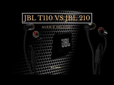 JBL T110 VS JBL T210, QUEM É MELHOR? #jbl #jblt110 #jblt210