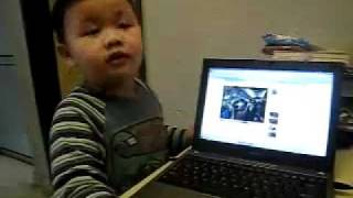 japanese boy sing indian Song