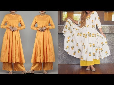 Daily Wear  Frock Kurti With Palazoo Designs||Palazoo With Kurti For Office,and College Wear Outfit