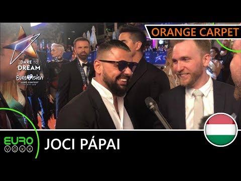 Hungary Eurovision 2019: Pápai Joci - & 39;az Én Apám& 39; Interview   Tel Aviv 2019