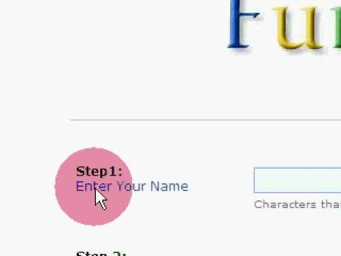 how to change google logo to my name youtube