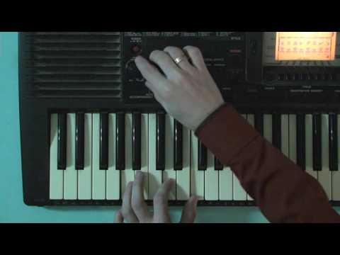 Как брать аккорды на синтезаторе