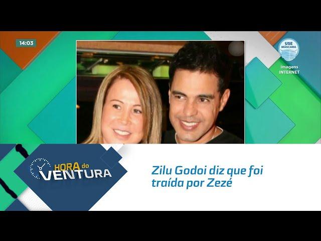 Zilu Godoi diz que foi traída por Zezé e que foi ela quem pediu para se divorciar