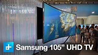 Samsung's massive bending 4K TV hugs your face by flexing from flat to curved