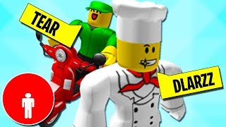 DLARZZ E TEAR PIZZAIOLI DEI MEME - Moments drôles Roblox