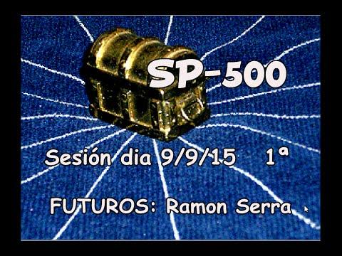 FUTUROS SP-500  Formacion trading intradia 090915 1ª