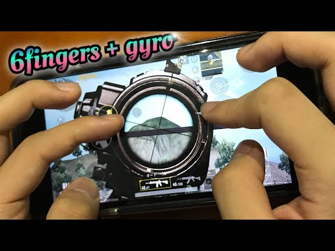 SIX FINGERS MOBILE HANDCAM - PUBG MOBILE CLAW SEETING By GENJ1 Gaming