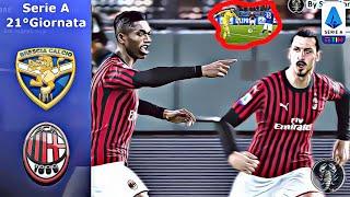 brescia - Milan   PES 2020