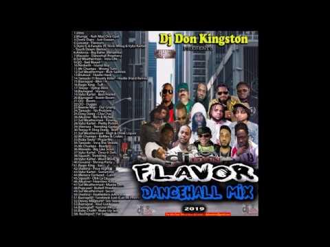 Dj Don Kingston Flavor 2019 Dancehall Mix
