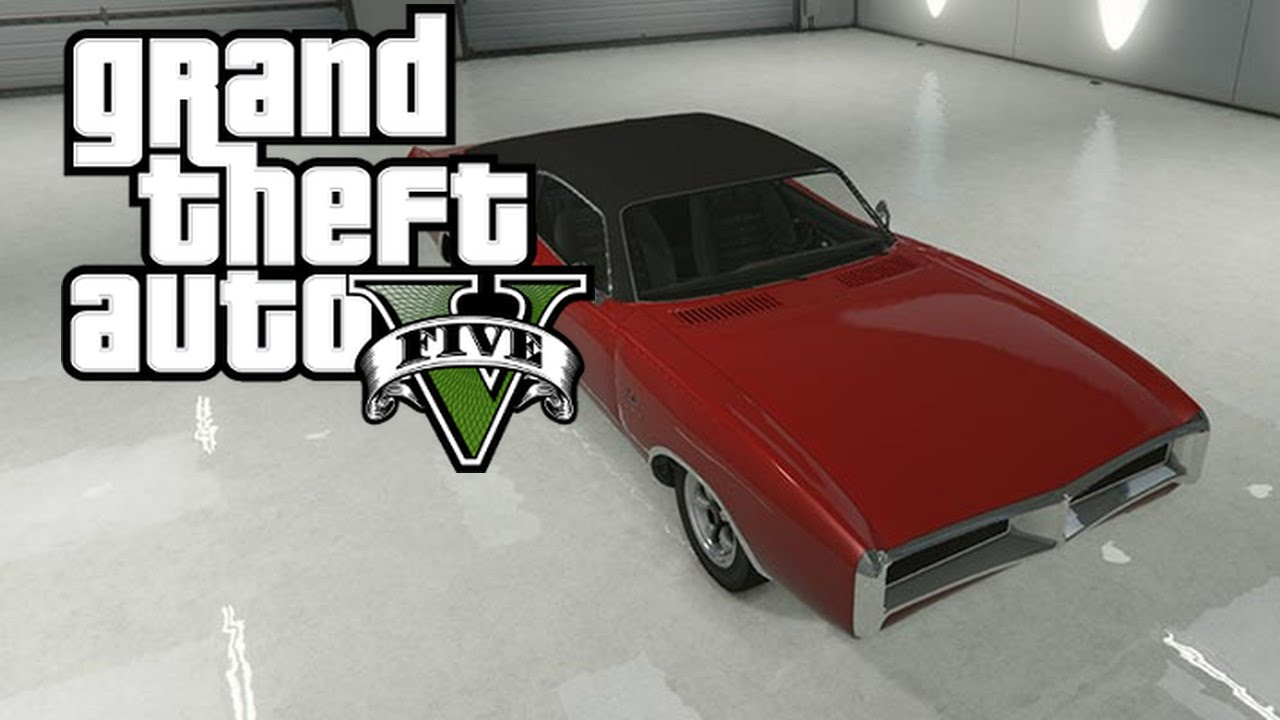 GTA 5 Online Imponte DukesDodge Charger Spawn Location PS4 Xbox One