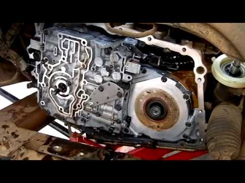 Disassembly 4t65e In The Car Impala Part 1 Youtube