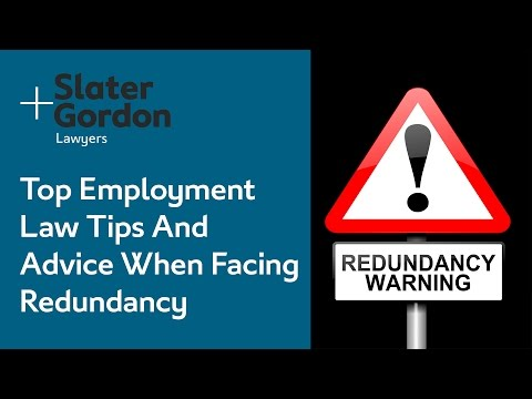 Top Employment Law Tips And Advice When Facing Redundancy
