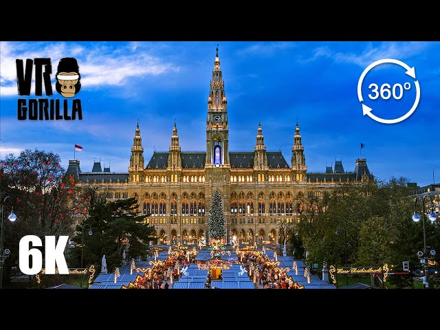 A Guided City Tour of Vienna (6K 360 VR Video)