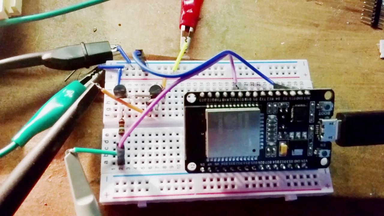 ESP32 PWM testing