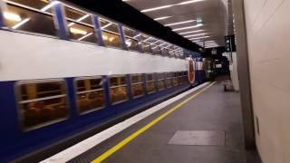 ( RER D ) Départ d'un Z20500 ROVO en Gare de Paris Gare de Lyon Pro...