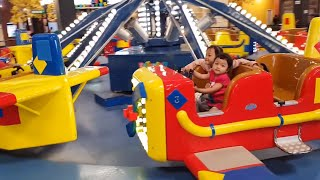 Bermain di Trans Studio Mini Solo - Transmart Solo - Nurin Berani Naik Roller Coaster