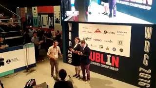 The World Barista Championship 2016 from the World of Coffee Dublin