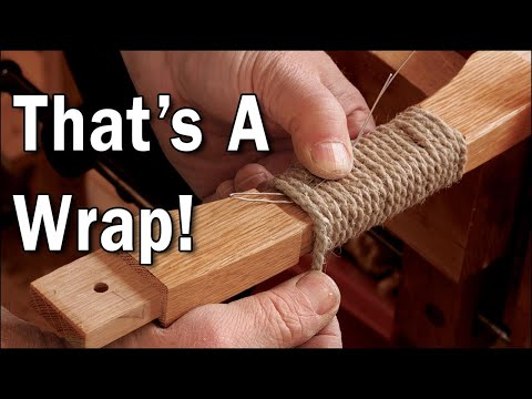 How to Wrap a Handle with Cord with Mike Pekovich