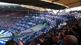 DFB Pokalfinale (MSV Duisburg-Schalke 04)Choreo