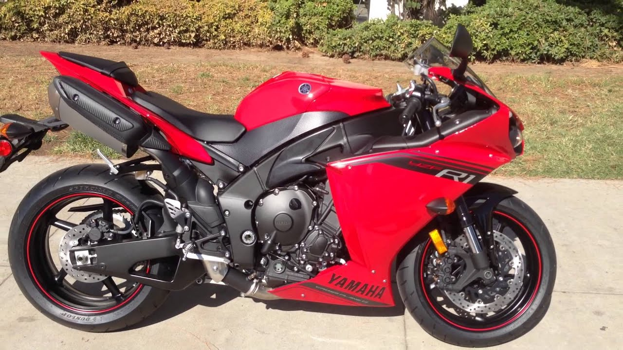 2014 yamaha yzf r1 rapid red youtube for Yamaha r1 2014