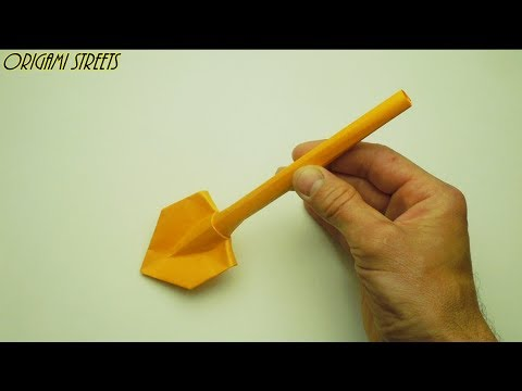 Origami Kertas Spade
