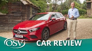 Mercedes A Class 2018 Road Test - Augmented Reality Navigation | OSV Car Reviews