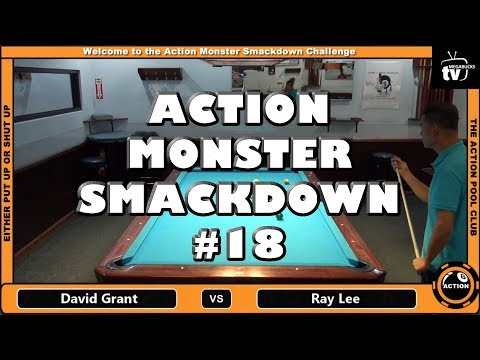 David Grant vs. Ray Lee - The Action Monster Smackdown - 18