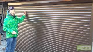 видео Рольставни (роллеты) – гарантия безопасности вашего дома