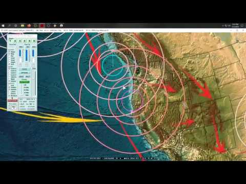 12/02/2019 -- Global Earthquake Activity -- West Coast USA due + Unrest due in Italy + Philippines