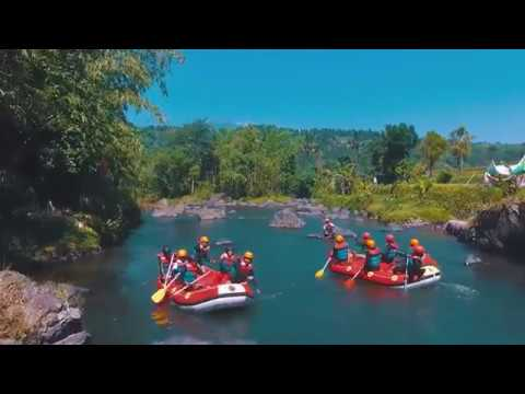 Arus Comal Rafting Outbound Sungai Comal Pemalang Youtube