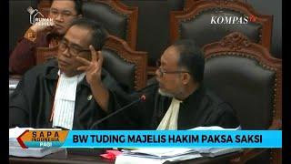 Download Bambang Widjojanto Tuding Majelis Hakim Paksa Saksi Tim Prabowo Mp3 and Videos