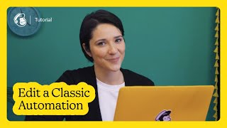 Pause & Edit Your Classic Automation in Mailchimp (October 2020)