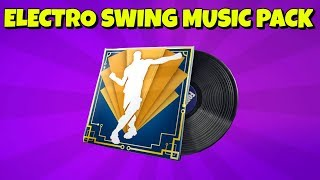NEW ELECTRO SWING MUSIC PACK in Fortnite